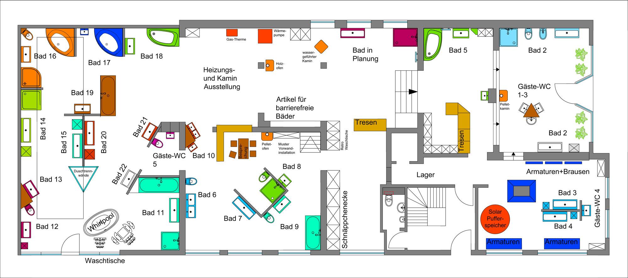 Badausstellung in Freiburg an der Elbe - Mahler Haustechnik